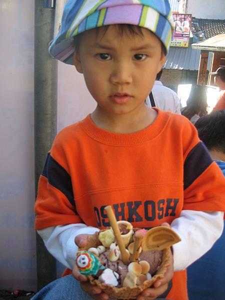 南庄的創意冰淇淋