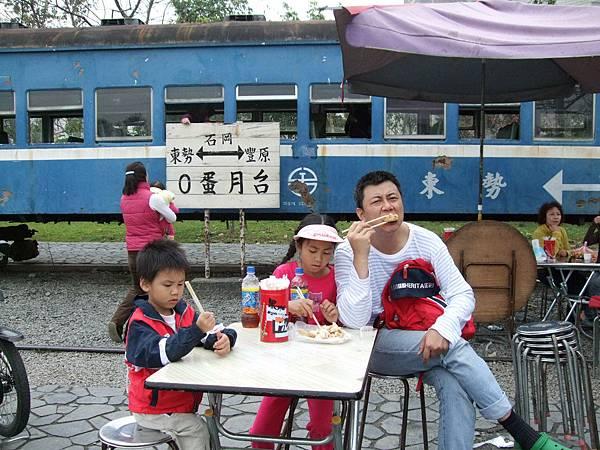 「東豐」鐵馬道的零擔車站
