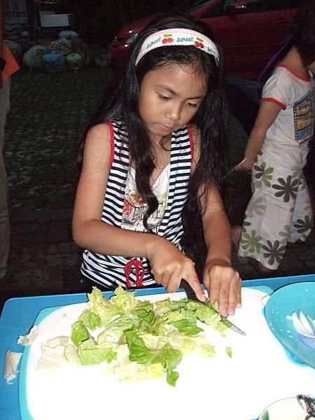 蘇雨桐愛切菜