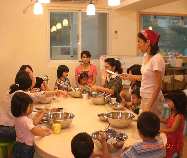 媽媽PLAY試辦親子烘焙聚會