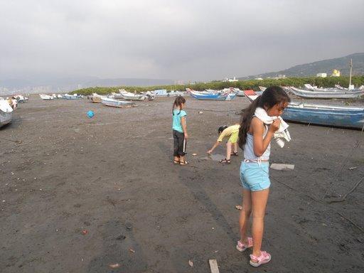 2008.4.自然課,淡水觀察水筆仔及沼潮蟹
