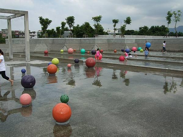 鶯歌陶瓷博物館的戲水區