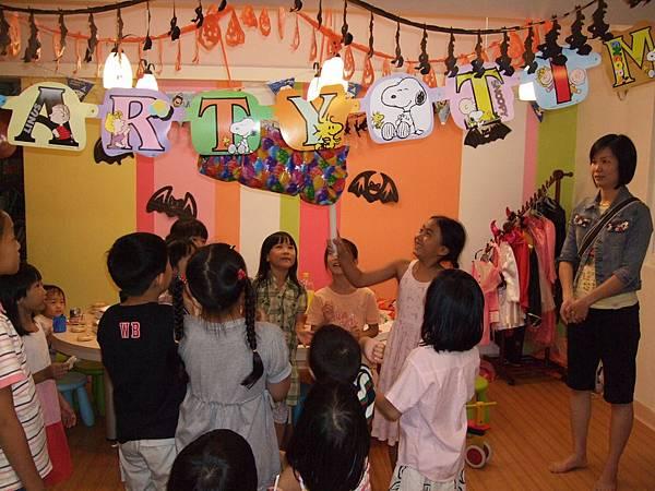 2008.10.18蘇雨桐八歲生日媽媽PLAY辦PARTY