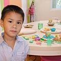青青在媽媽PLAY教室玩小樺阿姨的自製黏土