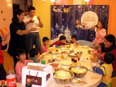 2008平安夜大餐.JPG