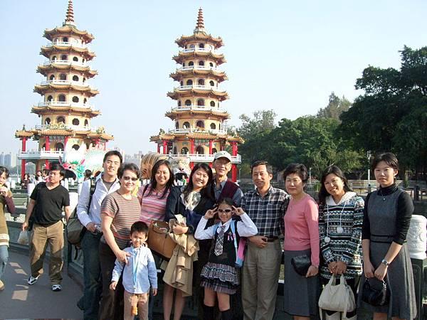 2008.12.27陪弟弟南下拜家人訪女友