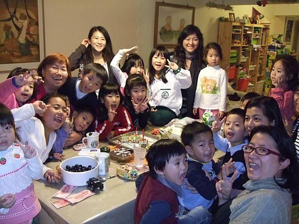 2009.1.19青青五歲生日PARTY