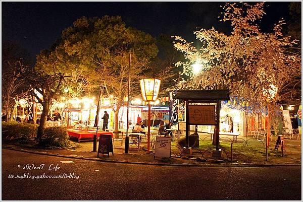 【2012關西甜滋滋蜜月旅行】- 圓山公園賞夜櫻 (9).JPG