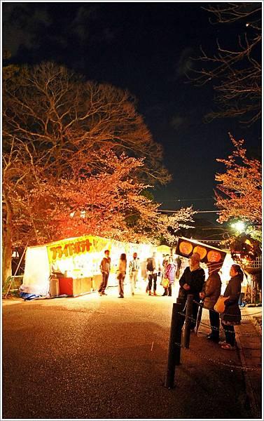【2012關西甜滋滋蜜月旅行】- 圓山公園賞夜櫻 (10).JPG