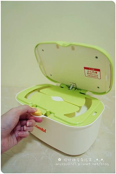體驗-combi濕紙巾加溫器 (13).JPG