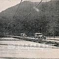 大濁水溪東洋一の鐵線橋