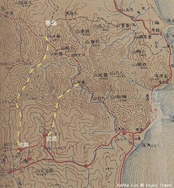 流興-寒溪,地圖