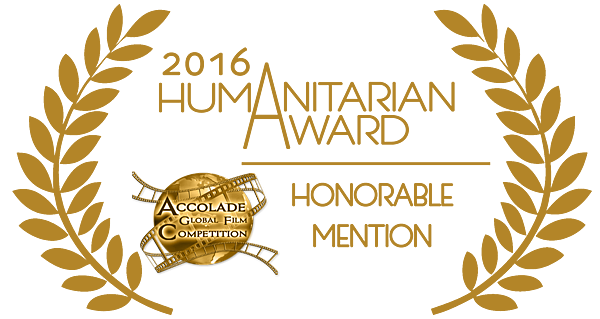 Accolade-HUMANITARIAN-honorable-mention-gold-2016
