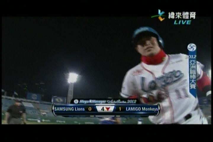 2012亞職大賽Game2-1HRb