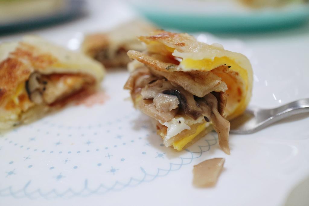 松露野菇蛋餅
