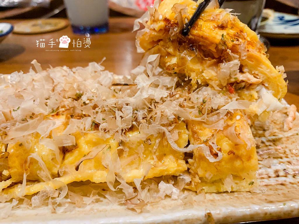 台中美食│樂座爐端燒崇德店 道地日式居酒屋 吧台看師傅現做料理 用船槳送餐傳遞幸福的料理
