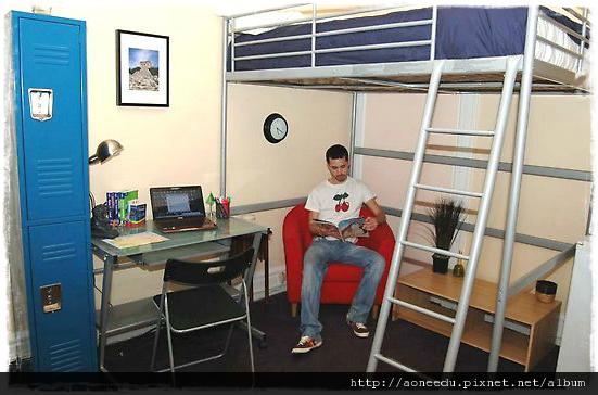 美國ILSC舊金山校區住宿選擇USA Student Residences Ansonia5.png