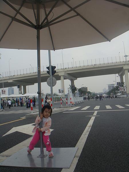 2010/9/27 上海世博 外圍管制區