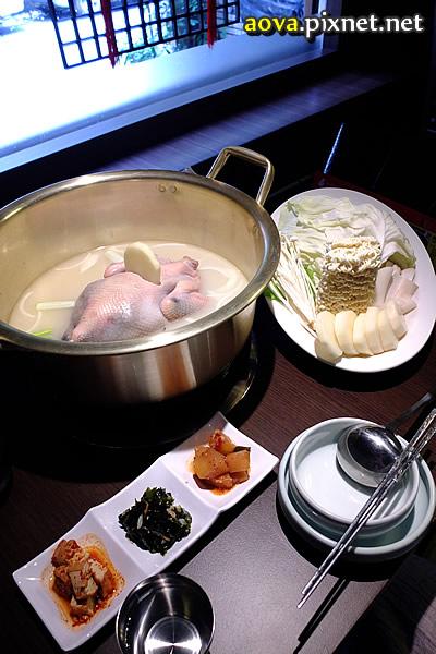 紅通通 一隻雞鍋 韓式10