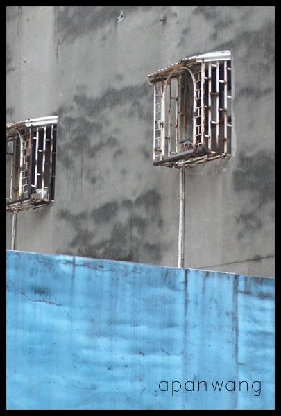 重慶北路巷內-兩個窗