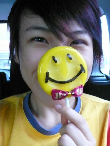 微笑的人兒