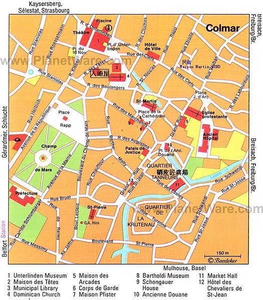 colmar-map
