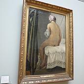 P1040284安格爾28歲畫的《Valpincon浴女》