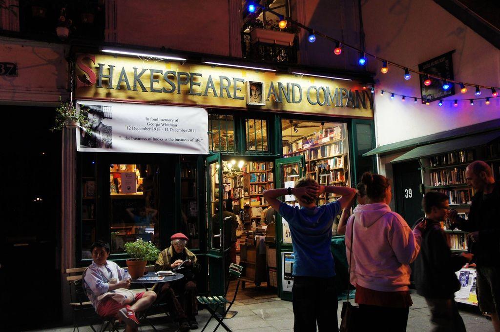 DSC00882-莎士比亞書店Shakespeare Bookstore