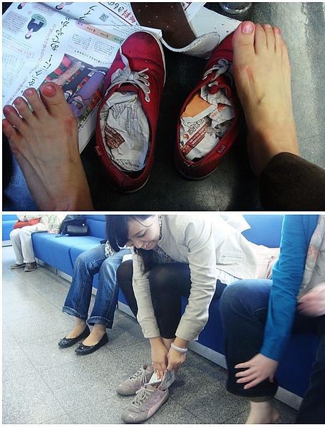 0916-327因為大雨..鞋子都濕了.JPG