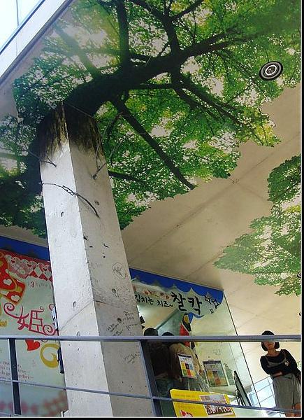 喜歡這假樹.JPG