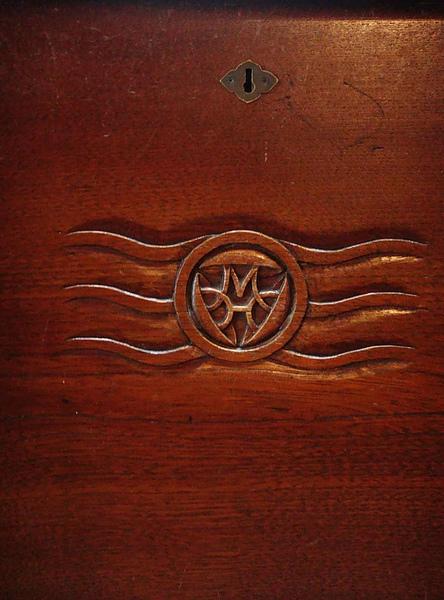 0916-341很多地方都可以看到 MH標誌..這是三笠飯店主人的英文縮寫.JPG