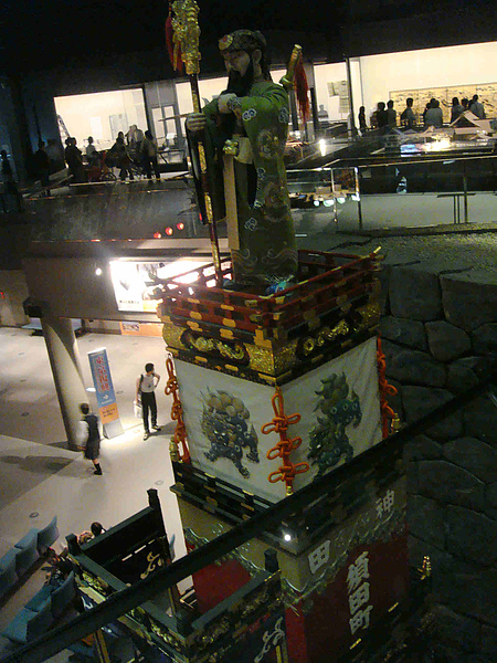 0915-227常設展示室以江戶、東京、通史等各區域劃分,有繪圖、浮世繪等資料.JPG