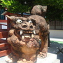 0410-23左右則是由沖繩守護神石獅鎮座.JPG