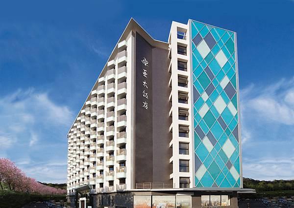 亞太飯店建築外觀