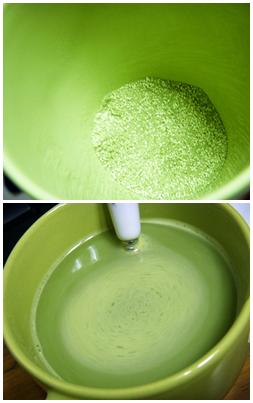 宇治金時抹茶牛奶