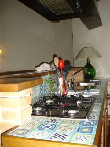 公寓的廚房