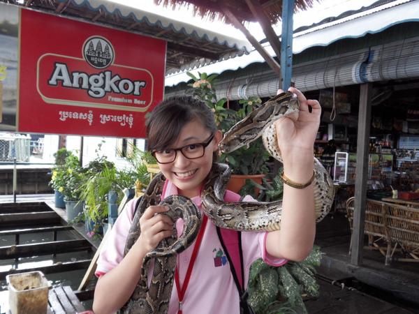 與蛇的初體驗