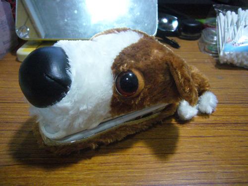 正版THE DOG可愛大頭狗手機套~半價出清