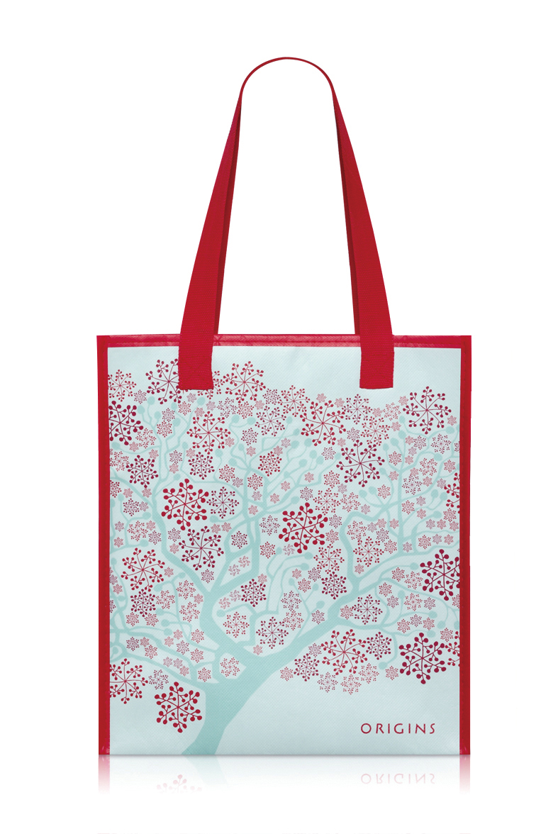 ORIGINS xmas bag_紐約進口環保袋.jpg