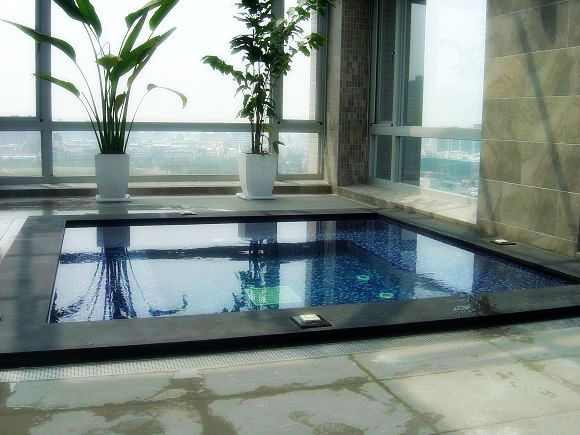 villa pool 泳池規劃設計-上群-spa空間