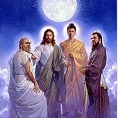 耶穌與其他宗教與聖者合影