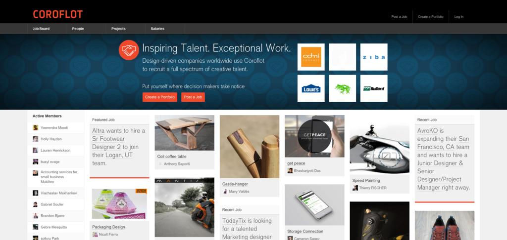 Coroflot — Design Jobs   Portfolios