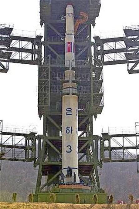"""北韓發射""""光明星3號""""地球觀測衛星"""
