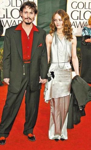 強尼戴普6年前曾與凡妮莎巴哈迪出席金球獎