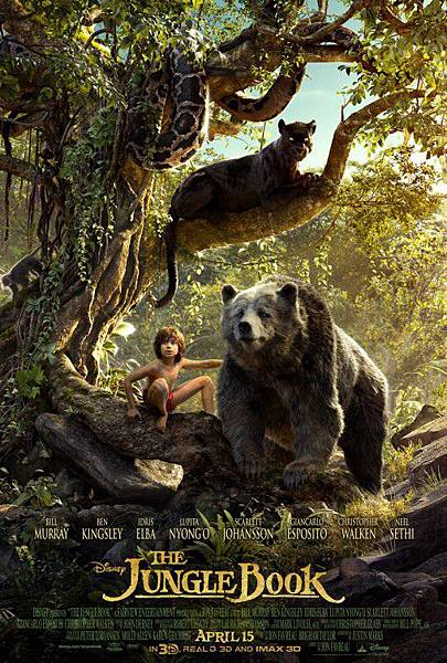 【奇幻】與森林共舞線上完整看 JUNGLE BOOK 3D