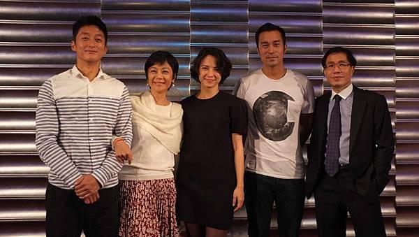 【念念】殺青酒 張艾嘉率演員出席 右為出品方松澤國際影業董事長李松良