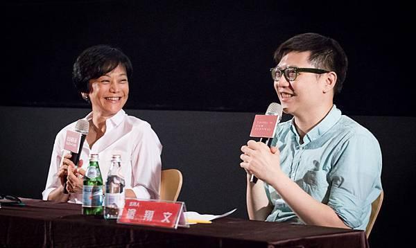 張艾嘉與塗翔文《20.30.40》映後座談分享新片《念念》-台北電影節提供