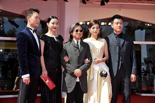 《親愛的》威尼斯首映張譯、郝蕾、陳可辛、趙薇、佟大為