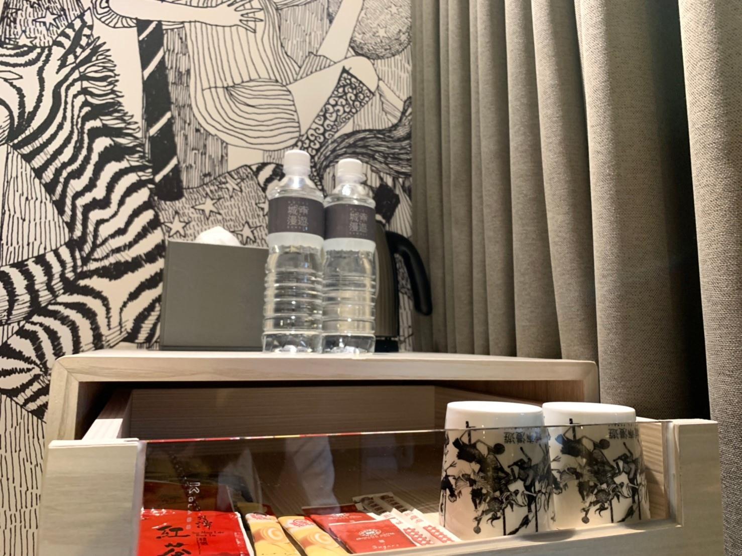 【台中北屯區】城市漫遊行旅│2019年9月全新開幕!強烈插畫風格及色調簡單舒適,療癒旅人身心靈並期待暢遊其中~