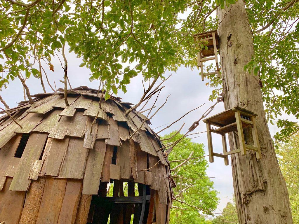 【新竹寶山】種子星球來作客│一顆種子星球飄落到新竹寶山【國際大師 林舜龍打造】在地漂流木及廢棄傢具創作,如客家人的親切好客!